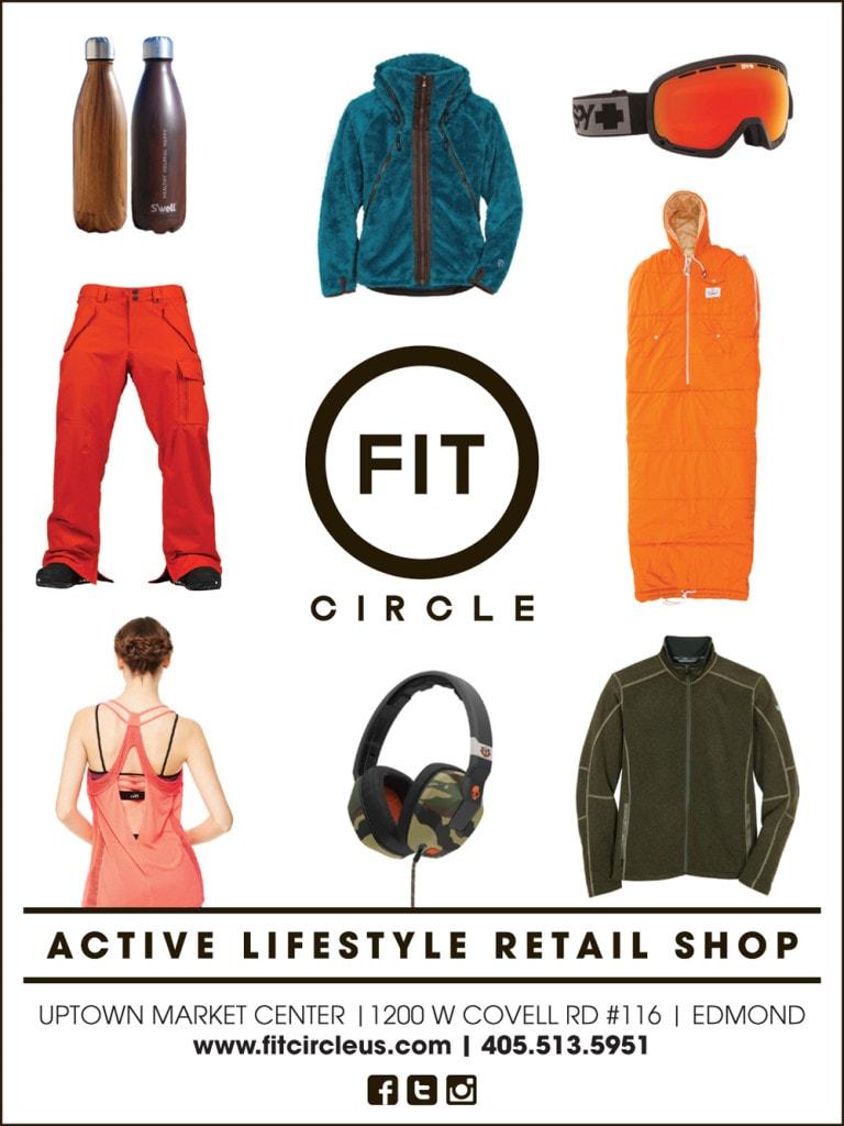 Fit Circle Print Ad