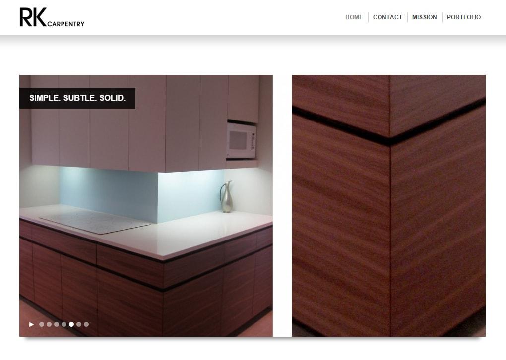 rkcarpentry website-design-hive-design-team-1