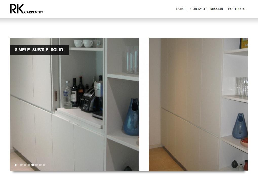 rkcarpentry website-design-hive-design-team-2