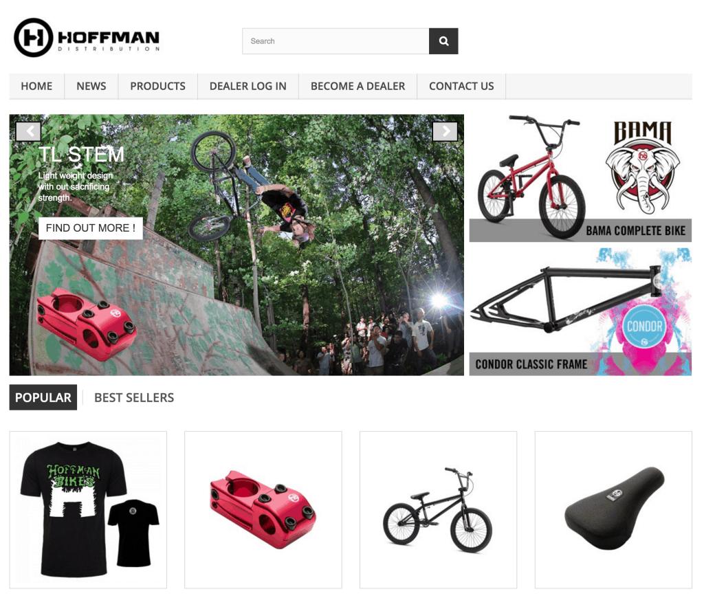 Hoffman Distribution online store