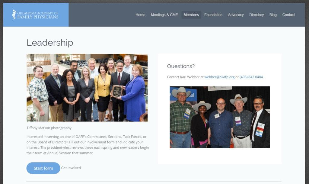 Oklahoma Academy of Family Physicians Hive Design Team