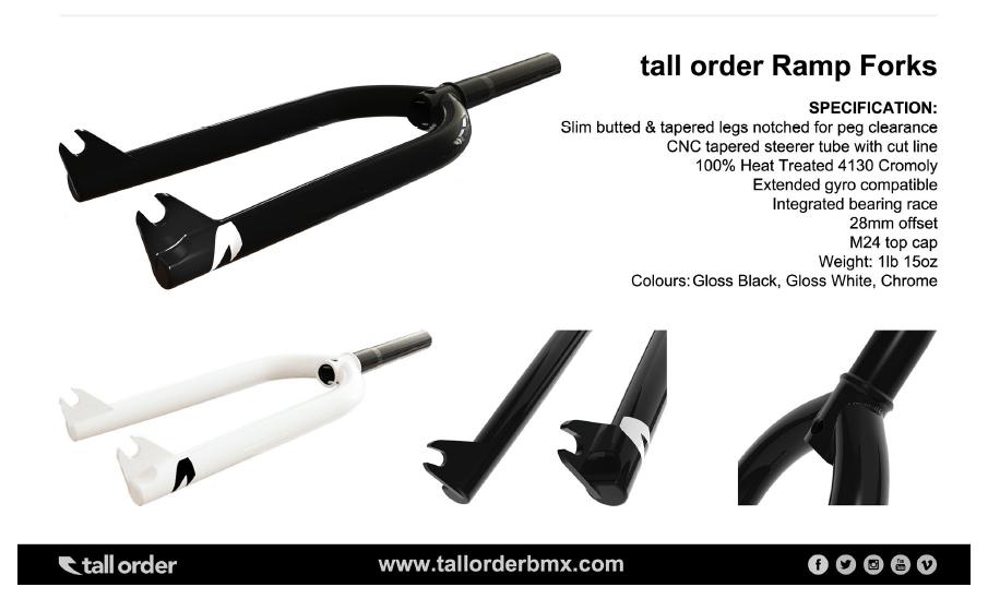 Tall ORder Bmx Fork