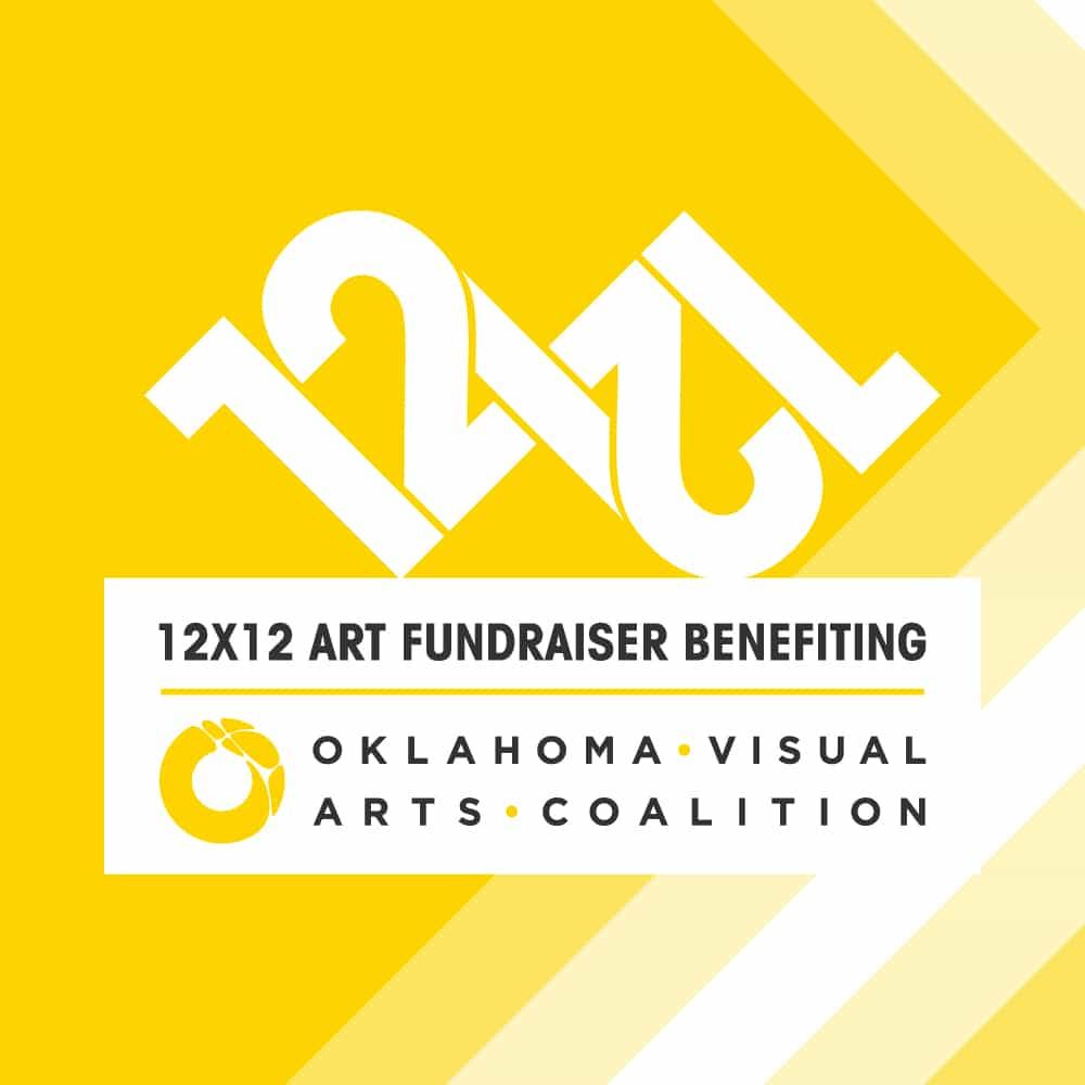 ovac, oklahoma visual arts coalition, 12x12, hivedesignteam, hive design, oklahoma arts