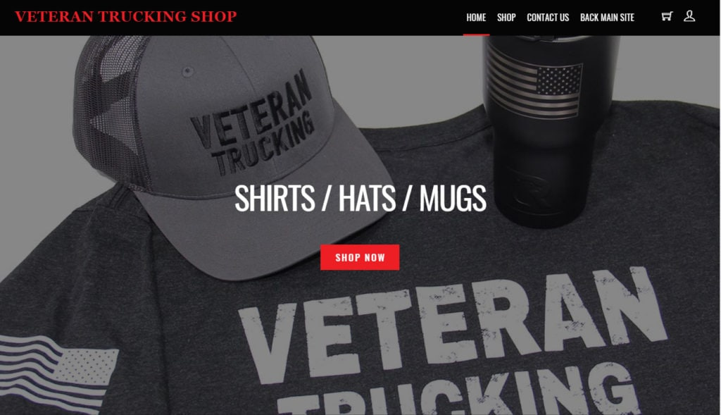 Veteran-Trucking-co-online-store
