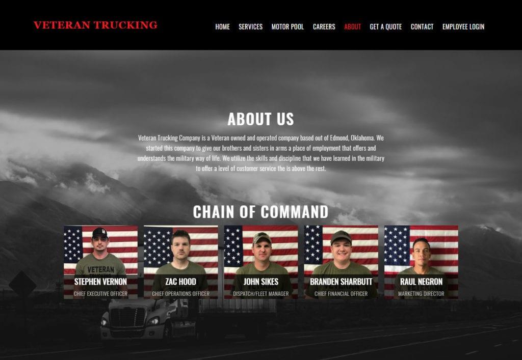 Veteran-Trucking