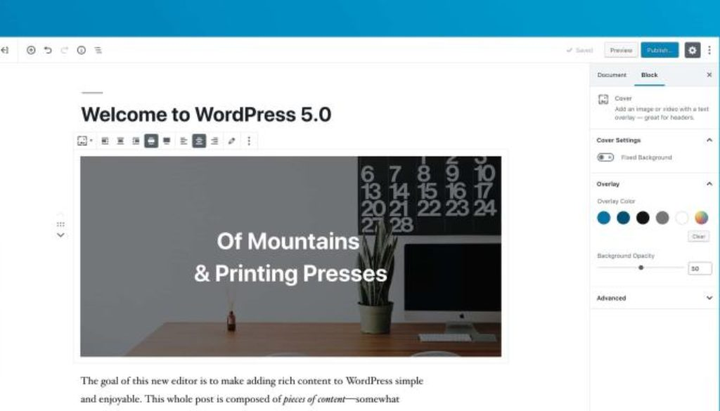 is your website wordpress 5.0 ready